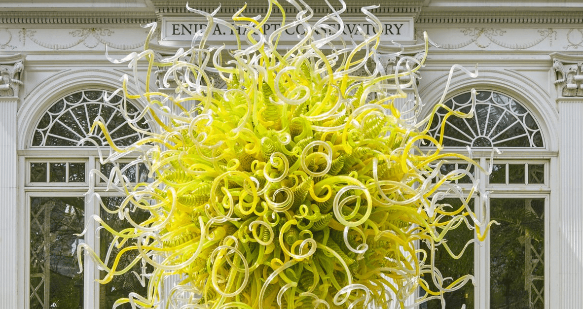 Chihuly At Nybg Rhinebeck Antique Emporium